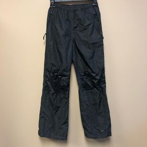 REI Element boy hiking water resistant rain pant M